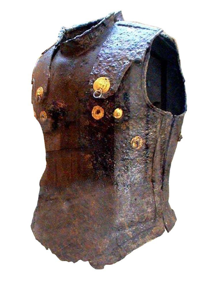 Prodromi cuirass. Iron anatomical breastplate, Corfu ...