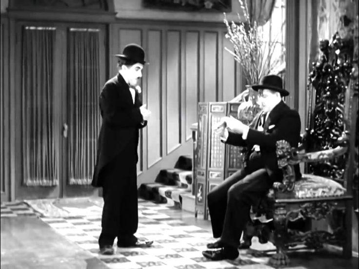 """Charlie Chaplin """"City Lights"""" (1931, Les lumières de la ville) - Film co..."""