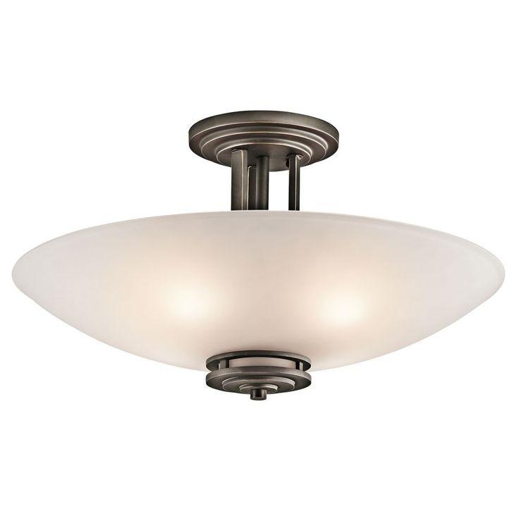kichler lighting products kichler lighting modern pendant light in olde bronze finish 3677oz