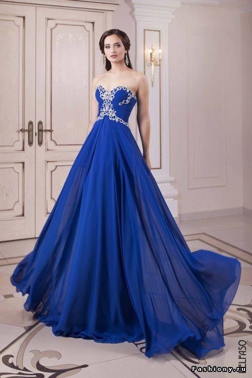 королевский синий цвет платья - Поиск в Google