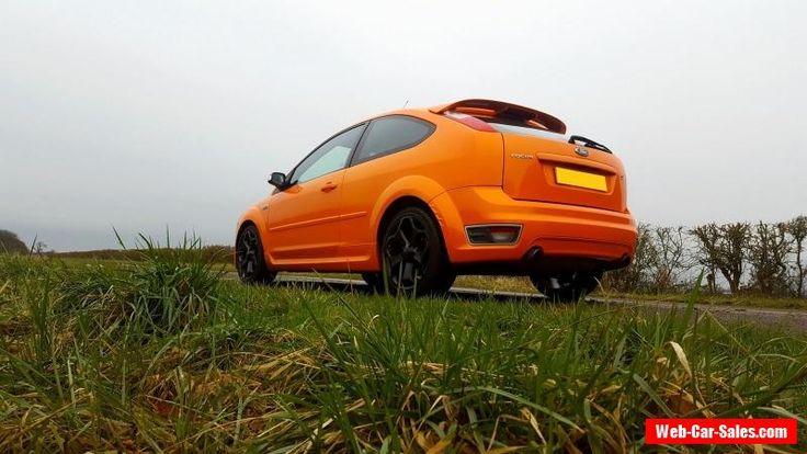 2006 Ford Focus St 2 Orange