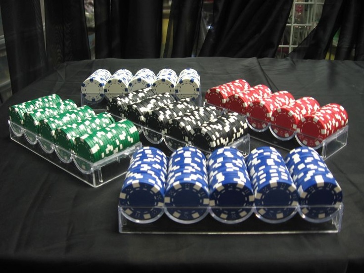 Poker Chips. Approximately 600 Clay Poker Chips are included!