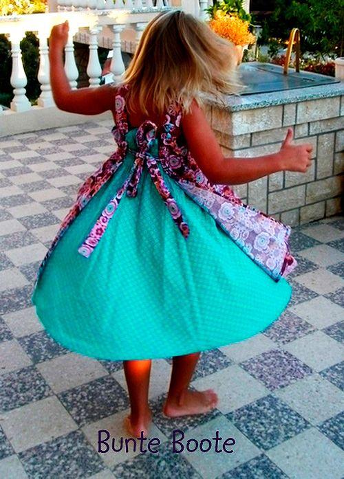 FeliZ Schnittmuster Kleid Mädchen farbenmix