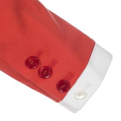 Paul Smith Women's Jackets | Bright Orange Textured Cotton Jacket