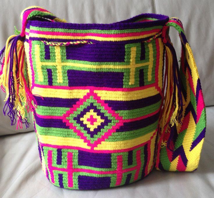 A personal favorite from my Etsy shop https://www.etsy.com/listing/227032987/wayuu-bag-mochila-hand-woven-ship