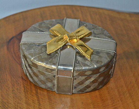 Silver Plated Trinket Box Jewelry Box Godinger