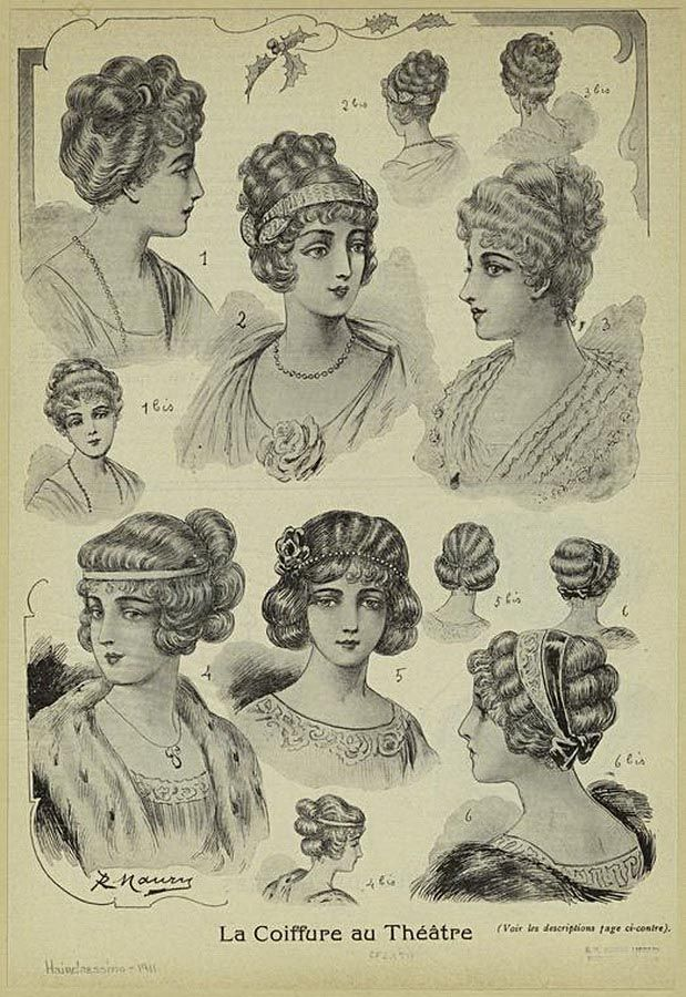 8 1910 hair