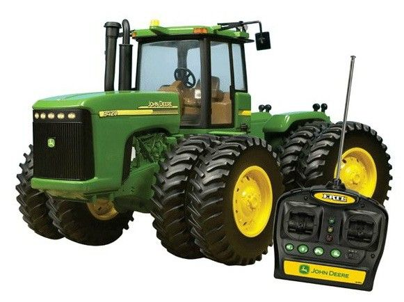 Ertl John Deere R/C Tractor 9.6 Volt 37653A by Tomy International (Rc 2) for $99.99 in Remote Control - Toys - America's Farm and Home Store