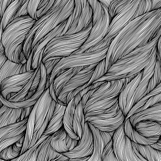 Line Drawing Hair : Images about hair pattern on pinterest vintage