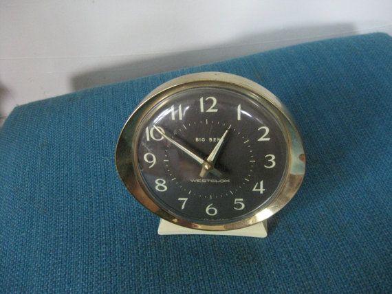 Vintage Westclox Big Ben MidCentury Alarm Clock by SassySalSells, $6.00