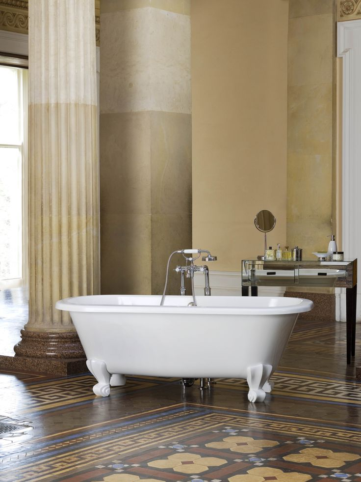 Keeping it classic #bathroom #inspiration #style  #classic #freestanding #baths
