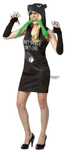 Randall's Honey Badger Adult Dress Costume