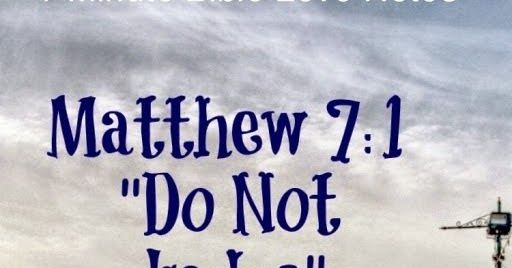 """""""Judge not,"""" found in Matthew 7:1, may be the most misused phrase in Scripture. An increasing number of people, including Christians, use ..."""