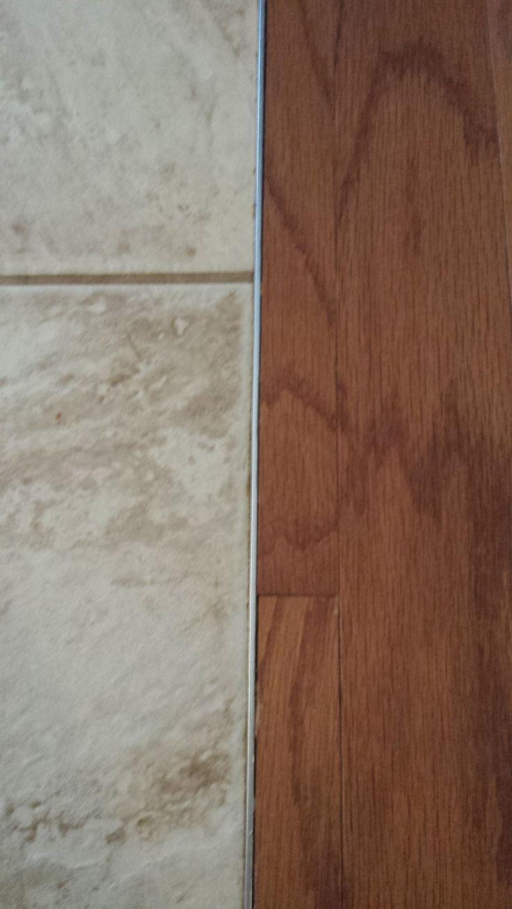 Floating Hardwood Floor Transition To Tile
