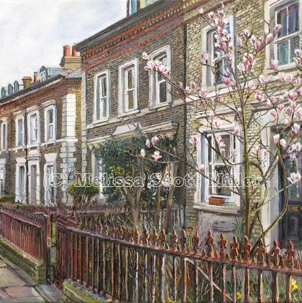 Melissa Scott Miller Artist - Portrait & Urban Landscape Painter - London - England - Gallery Enlarged Picture