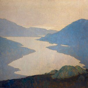 Paul Henry, Irish painter, 1877-1958.