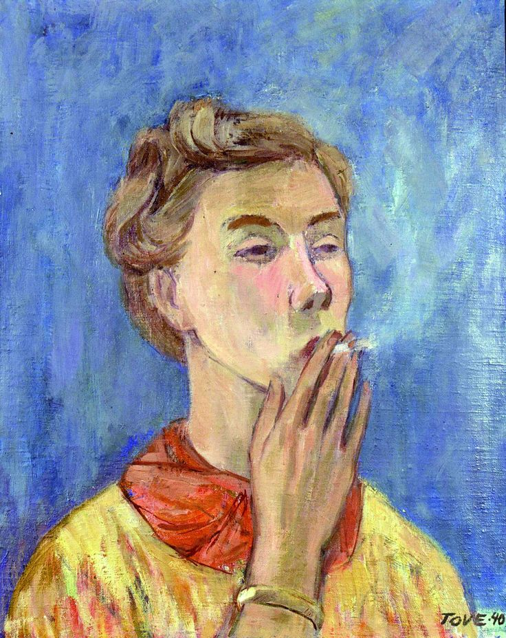 Self-portrait, 1940 Tove Jansson