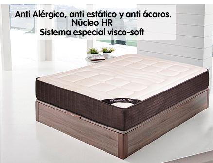 Colchón Viscoelastico BELLAGIO Total Confort