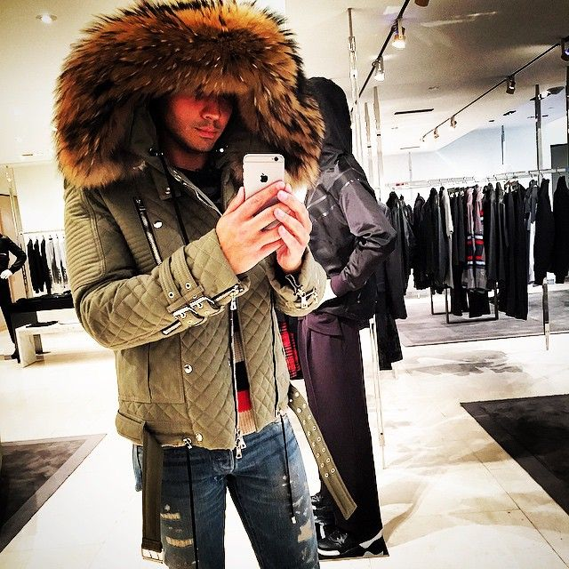 #saturdays #shopping @_danalo #winter #balmain #barneys