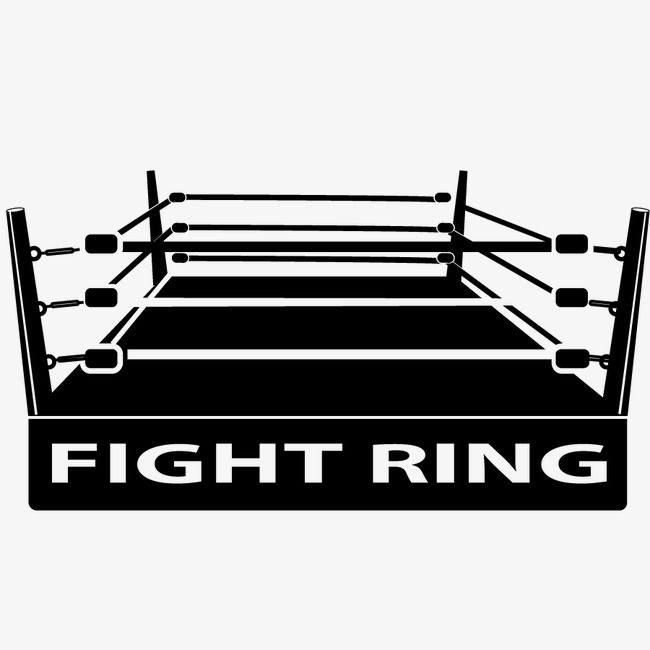 Vector Boxing Ring Hd Vector Black Png Transparent Clipart Image And Psd File For Free Download Rings Vector Boxing Rings