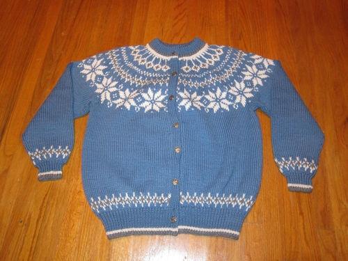 Womens Sweater Dale of Norway Blue White Wool Nordic Norwegian Fair Isle | eBay
