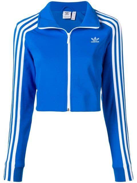 339138b9a7acc Adidas укороченная спортивная куртка
