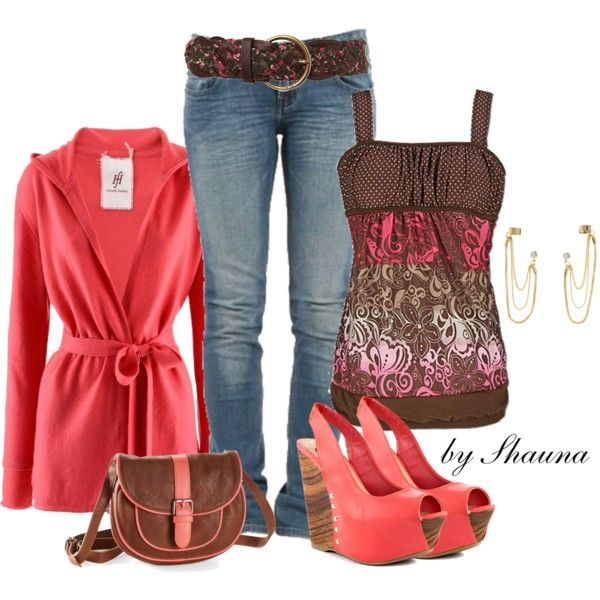 """""""smooth transition from Summer to Fall"""" by shauna-rogers on Polyvore"""