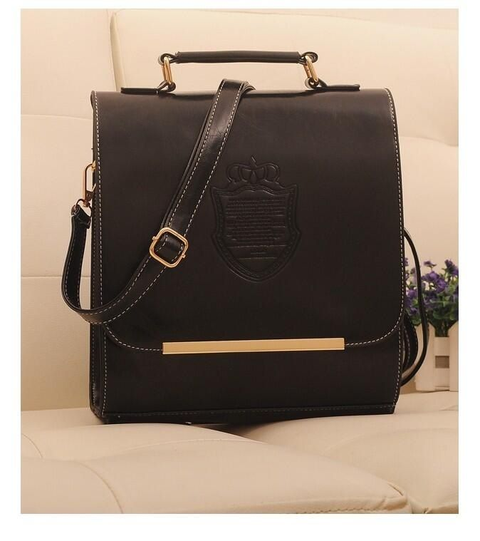 BJ4386 Black 3 in 1 215 Material PU Leather, Bottom width 29 cm, Height 25 cm, Thickness 12 cm