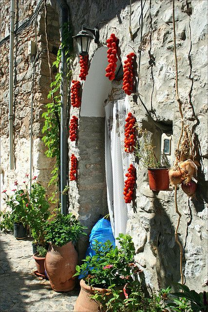 Mesta, Chios, Greece by gakout, via Flickr