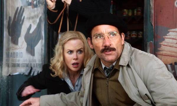 "Nicole Kidman and Clive Owen in the HBO film ""Hemingway & Gellhorn."""
