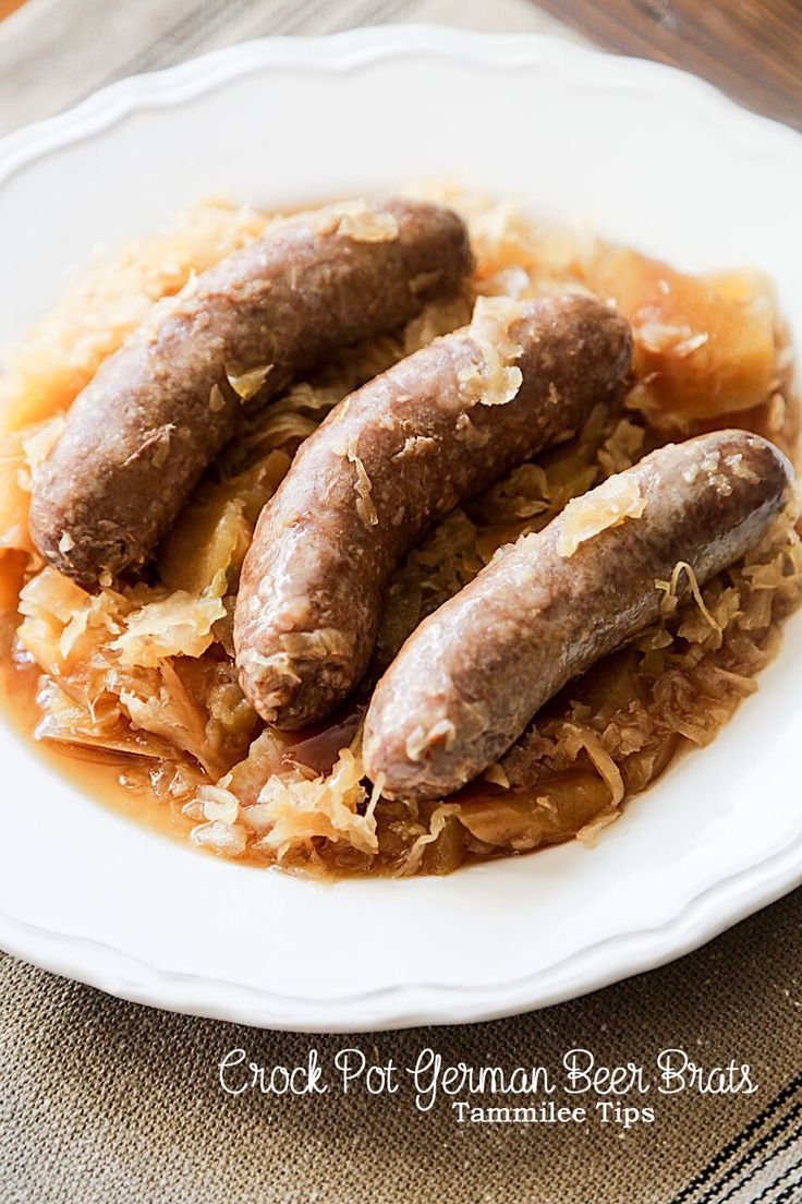 How To Make Hot Dogs And Sauerkraut In Crock Pot