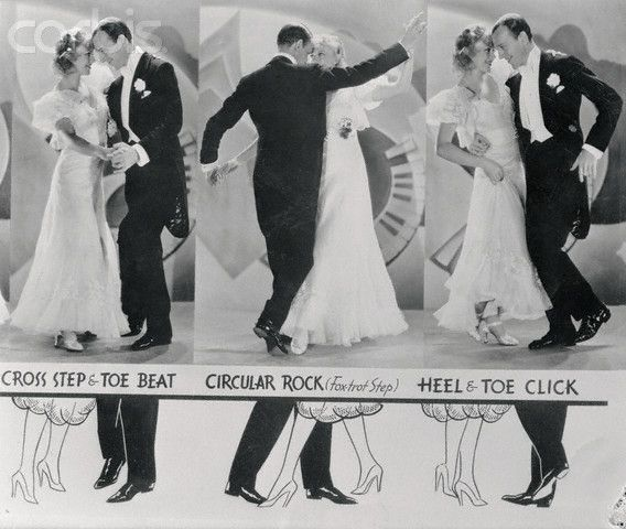 Fred and Ginger - dance steps