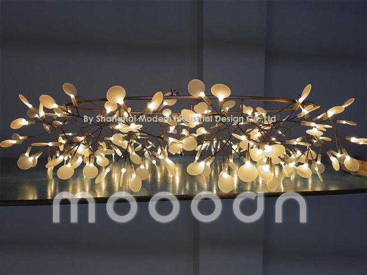Moderne kerstbomen kersen heracleum tak bladeren glimworm geleid kroonluchter hanglamp, m9156-afbeelding-kroonluchters en hanglampen-product-ID:60266816438-dutch.alibaba.com