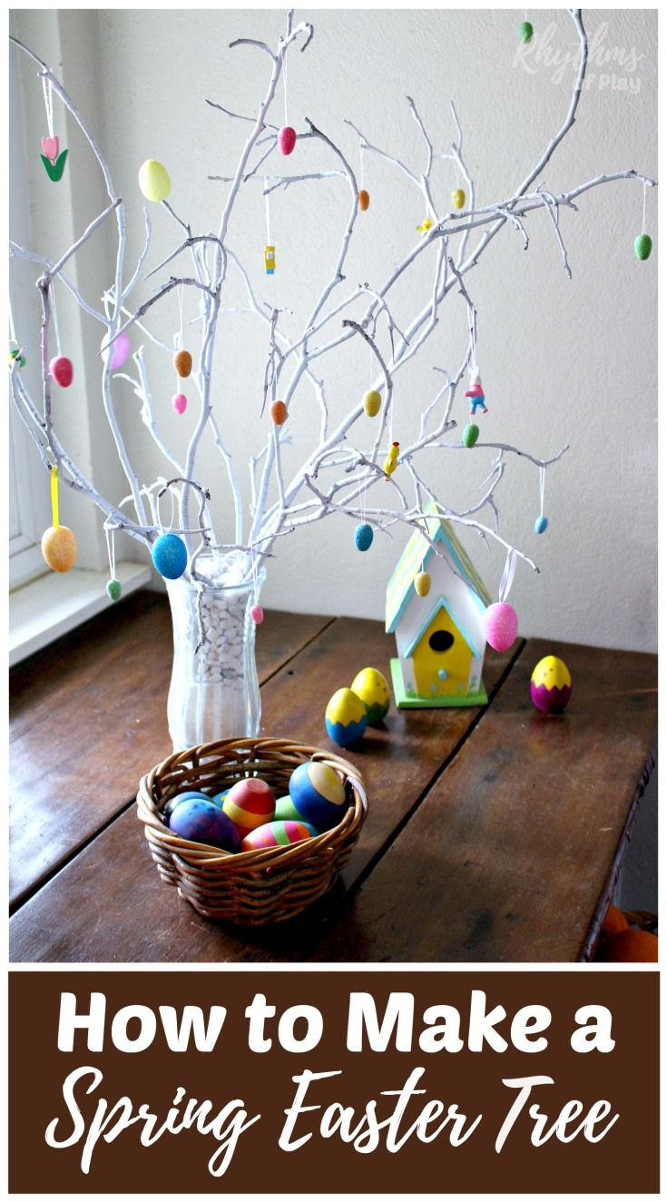 25 best ideas about easter tree on pinterest diy easter for Easy to make home decorations