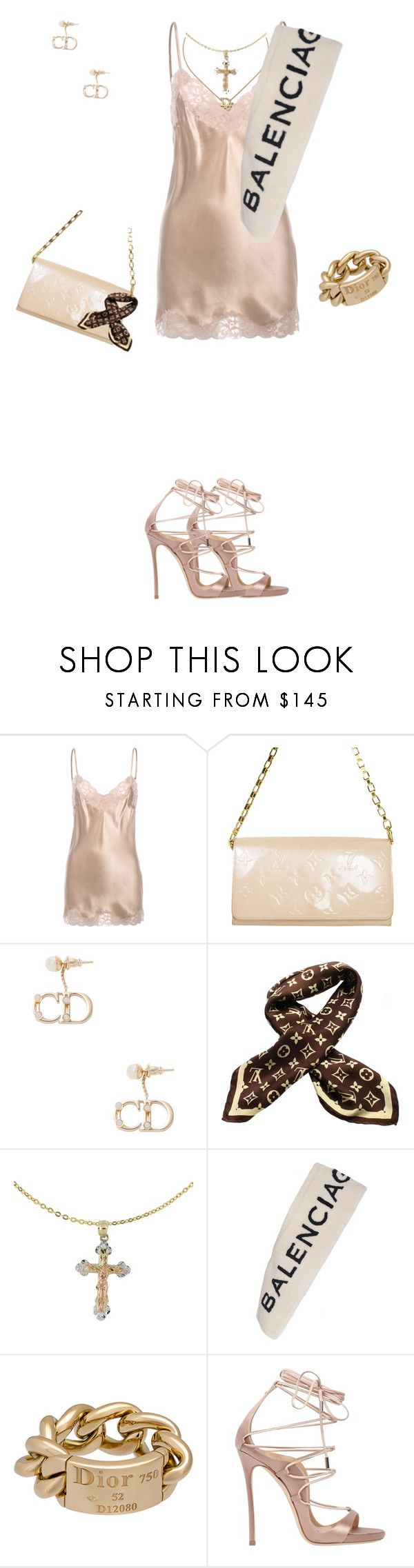 """Nicole the fox"" by looksbydes ❤ liked on Polyvore featuring Falcon & Bloom, Louis Vuitton, Christian Dior, Cross, Balenciaga and Dsquared2"