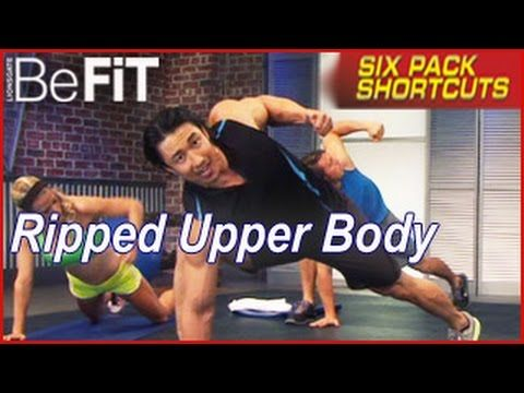 Ripped Arms & Upper Body Workout: Six Pack Shortcuts- Mike Chang