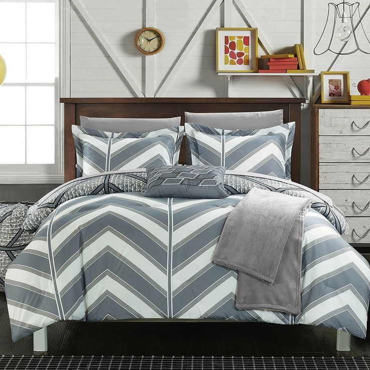 25 Best Chevron Comforter Ideas On Pinterest