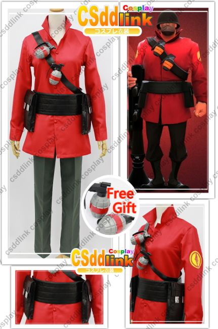 Cosplay costume- Team Fortress 2 Soldier Cosplay Costume