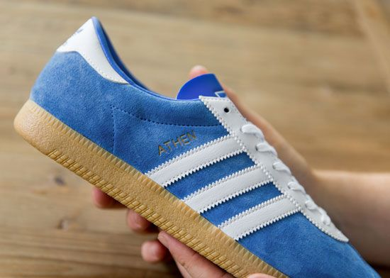 First released in the 60's, the Athen will be launched as a Size? exclusive later this month (October) - it was last seen in 2004 so it's been 12 years since the Athen was last released