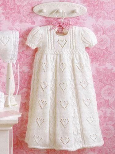 Вязаное платье для девочки викторинка