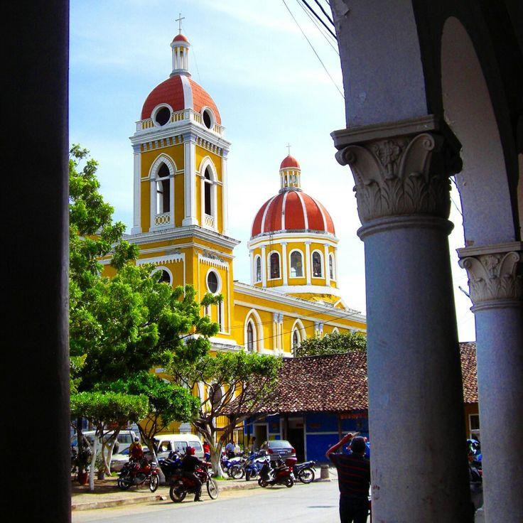 Gorgeous colonial architecture in Granada, Nicaragua, Central America - Architecture & Design