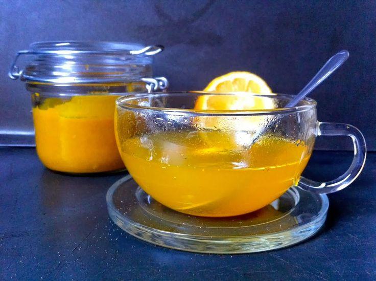 Winter time - curcume (trumelic) tea Téli csodaszer: házi kurkuma tea