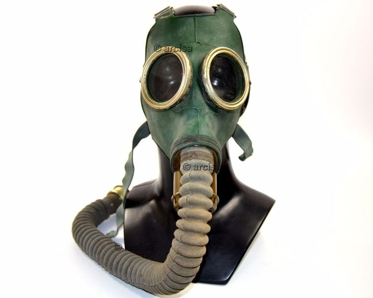 Soviet russian gas mask GP-4 Green rubber mask with straps. Mask is new, never used, good condition. | eBay!