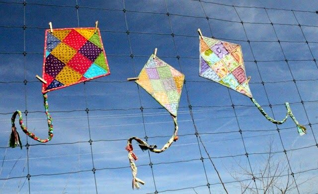 Let's Go Fly A Kite–Pattern and Kites for Sale