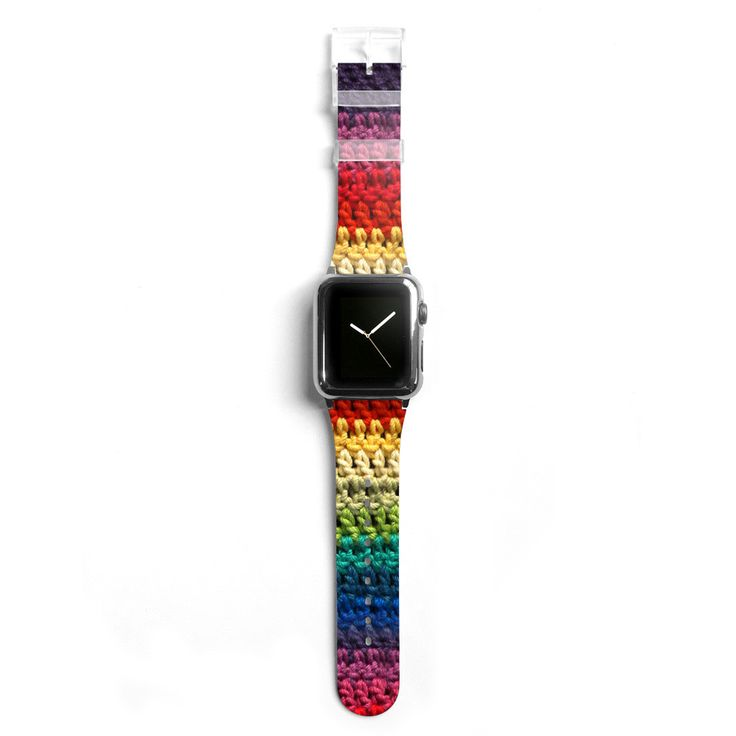 Knitting Apple watch band, Decouart Apple watch strap S006 (NOT real crochet)