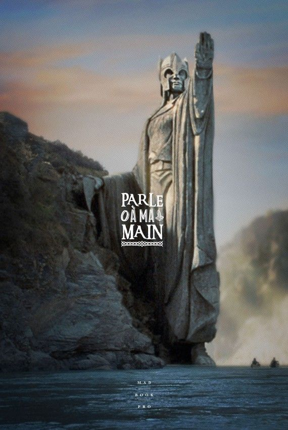 J'en ai rien affiche - Le Seigneur des Anneaux #03