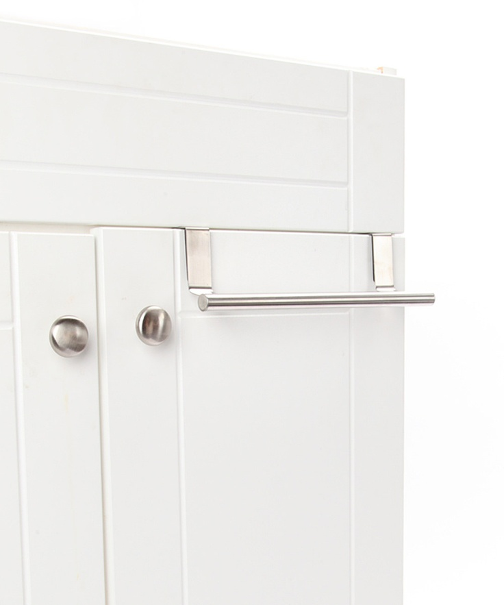 cabinet door kitchen towel rack kitchen pinterest