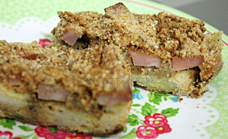 Torta salata con pane raffermo  IL MIO SAPER FARE