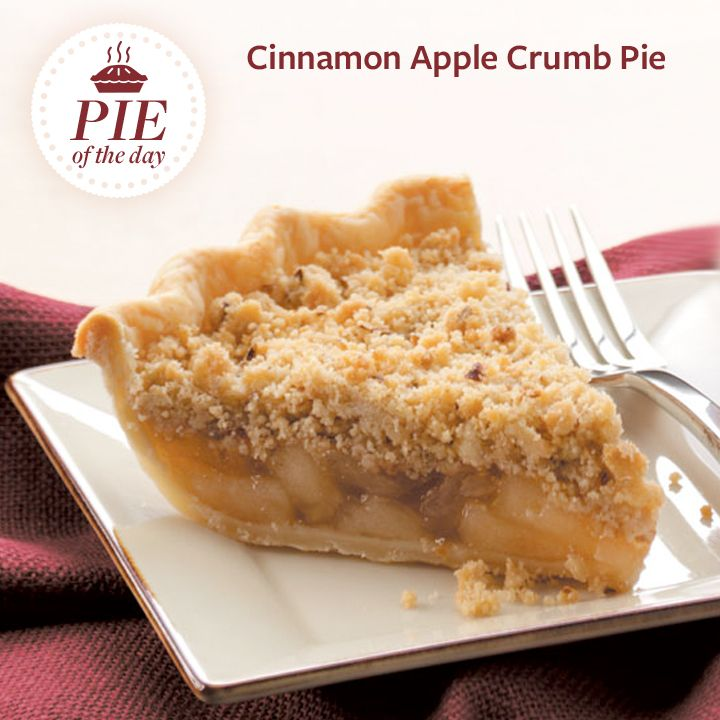 Cinnamon Apple Crumb Pie Recipe from Taste of Home -- shared by ...