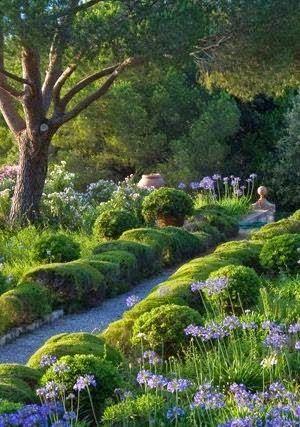 Mediterranean Garden..